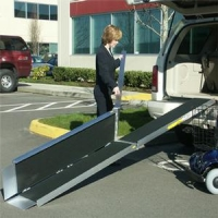 EZ-Access Trifold Wheelchair Ramp Advantage Series 5'-10'