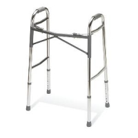 Medline Adult Heavy-Duty Folding Walker