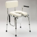 Commode; Drop Arm W/ Padded Seat