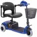 CTM Homecare HS-125 Mini 3-Wheel Scooter