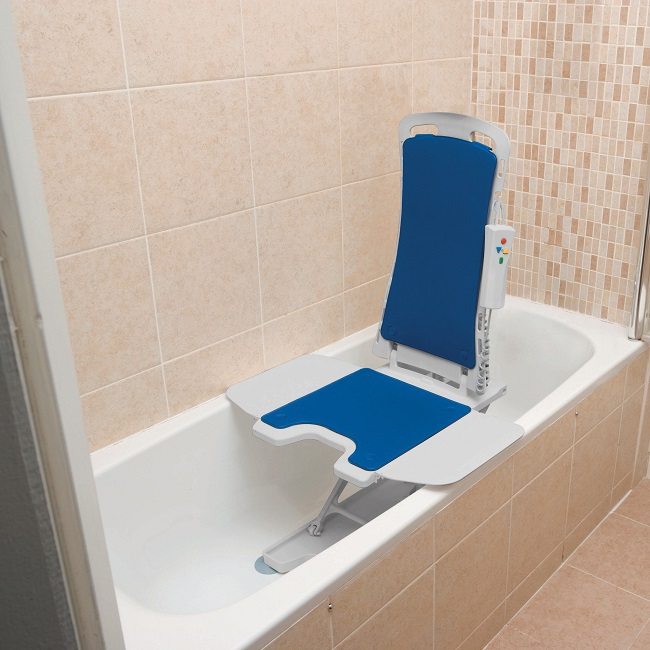 Patient Bath Lifts for the Tub & Shower - Power Bath Lift Savings