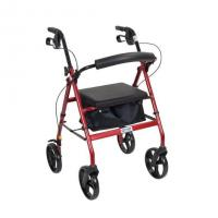 "Drive Medical Aluminum Rollator with 7.5"" Casters"